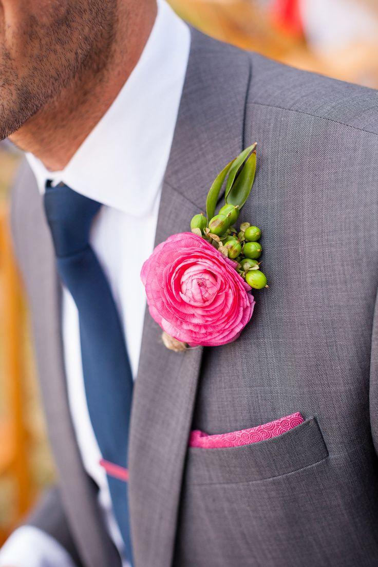 Gewagtes Pink #Hochzeit #wedding #Bräutigam