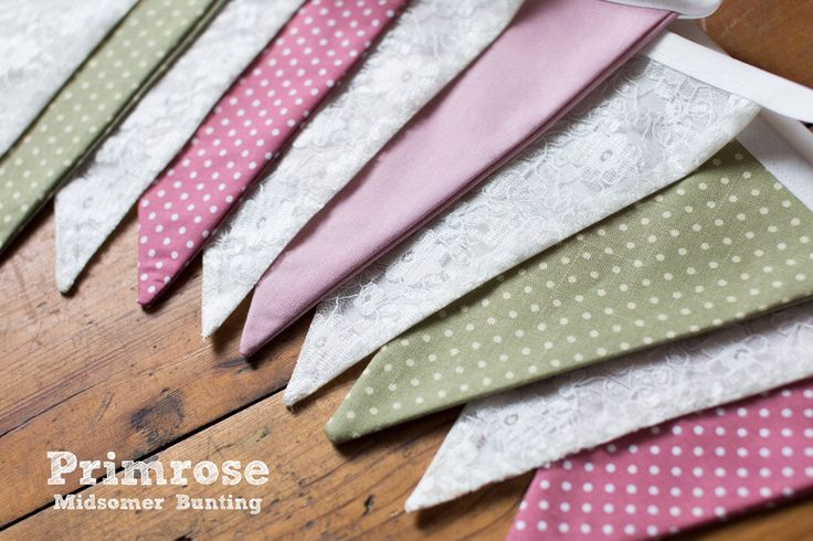 Green, Pink and Cream Lace Bunting:Suitable for Garden Parties, Easter Wedding Celebrations. Shabby Chic, All Occasions. Double Sided by MidsomerBunting on Etsy https://www.etsy.com/uk/listing/453277336/green-pink-and-cream-lace