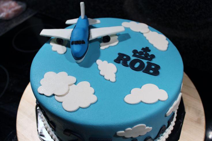 KLM taart