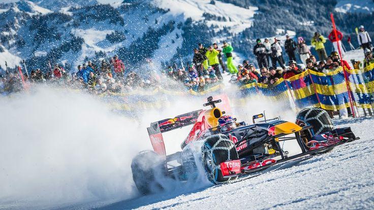 Max Verstappen, Kitzbühel Mountain tops for Live 'Snow Run' ahead of July's Austrian Grand Prix.