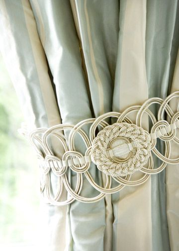 Detail from curtains by Liz Williams Interiors