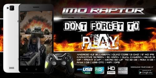 Harga Imo Raptor Spesifikasi Ponsel Game Murah - Harga Imo Raptor, Spesifikasi Imo Raptor, Keunggulan Imo Raptor,Kelemahan Imo Raptor,Kekurangan Imo Raptor.
