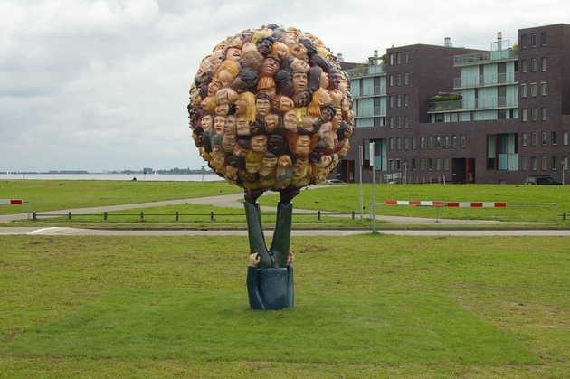 Paul de Reus, zonder titel (2010), Havenkom, Almere Haven. © Paul de Reus