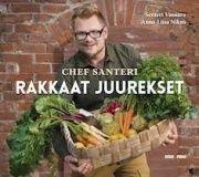 Rakkaat juurekset on Chef Santerin kunnianosoitus parhaille maan antimille. Kirja tarjoaa inspiroivan läpileikkauksen juuresten käytöstä. Kesän ihanat uudet juurekset, syksyinen yltäkylläisyys sekä talvijuuresten syvät maut ovat antaneet innoituksensa kirjan yli puoleensataan ruokaohjeeseen. Tähän aikaan päivitettyjä klassikoita ja uusia oivalluksia leimaa rakkaus yksinkertaisiin ja nöyriin, mutta ehdottoman ylellisiin makuihin. Santerin ruokafilosofia on tehdä yksinkertaisesti hyvää.