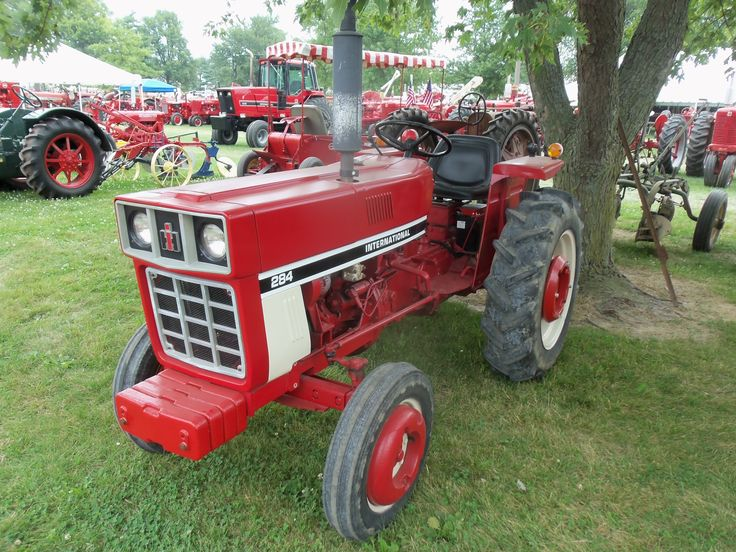 International Harvester 284 Tractor : Best images about cub cadet other small tractors on