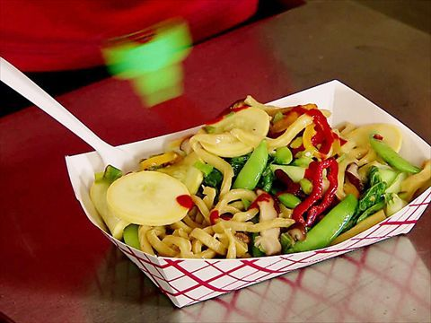 Food Truck Homemade Noodles : Food truck or not, Guerrilla Street Food even serves up homemade noodles. via Food Network.