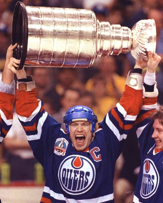 1990- Mark Messier(Edmonton Oilers) #hockey #whistler
