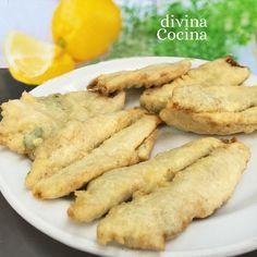 Esta receta de boquerones al limón rebozados es muy sencilla si tu pescadero arregla el pescado, que es la parte más laboriosa. No te pases con el tiempo de fritura para que el pescado no quede seco.