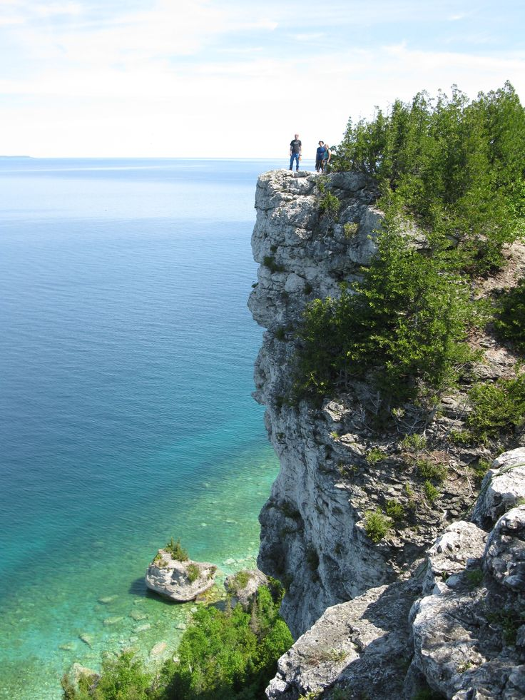 Lion's Head, Bruce Trail, Ontario - I was here this past weekend...absolutely gorgeous hiking!!!
