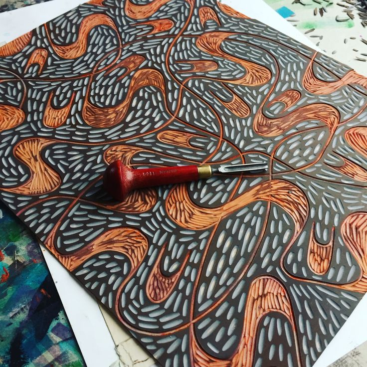 Jan Lamr Art / Linocut