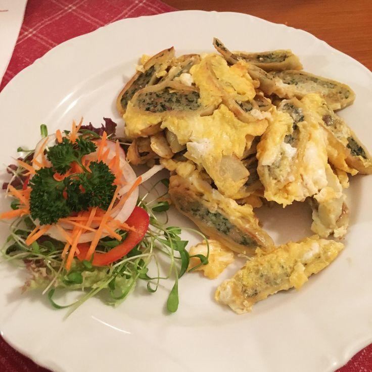 Schwaben-Klassiker: Geröstete Maultaschen mit Ei