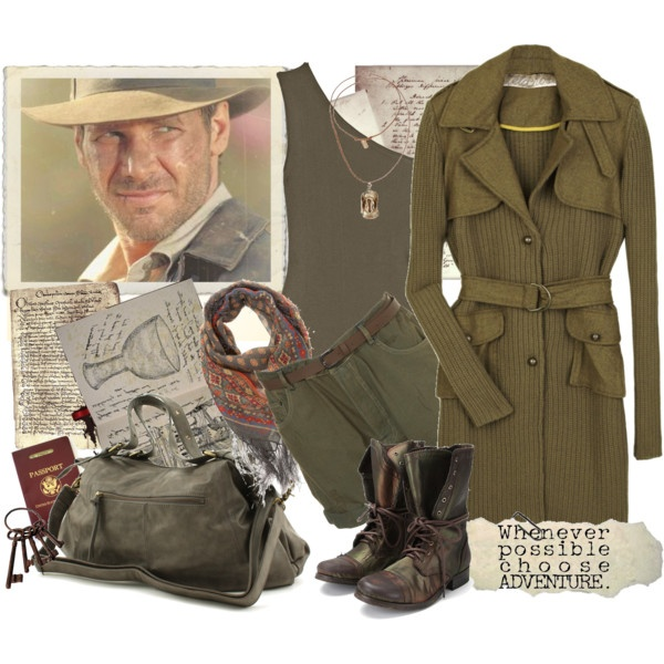 37/50-Adventure with Indiana Jones/Harison Ford, created by jelena-m-s on Polyvore