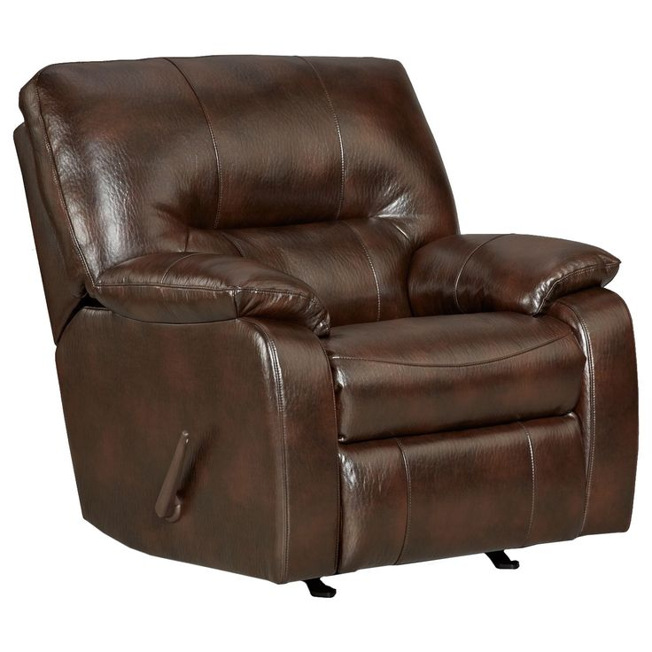 Canyon Polished Rocker Recliner Chair,