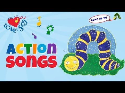 "Caterpillar and butterfly song ""My kids use scarves for butterfly wings and love dancing to this song with the children on this kids music video"" Watch Wheel..."