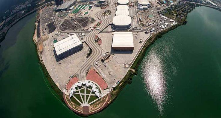 Imagens áreas revelam sinais satânicos na Vila Olímpica Rio 2016 - Local construído para sediar as competições na Barra da…