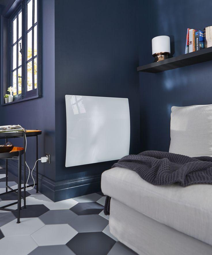 Ce radiateur électrique double coeur de chauffe Révélation apporte une touche de modernité et une chaleur douce dans votre espace !