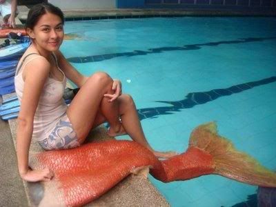 fake mermaid tail!!! I need this!