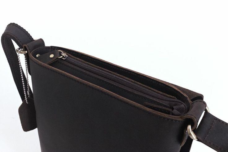 Leather iPad Bag Detail