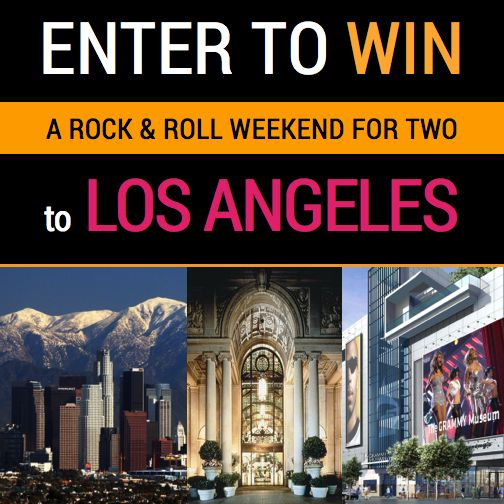 Win a Weekend for Two to Los Angeles