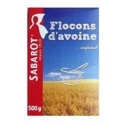 Flocon d'avoine 500g Sabarot