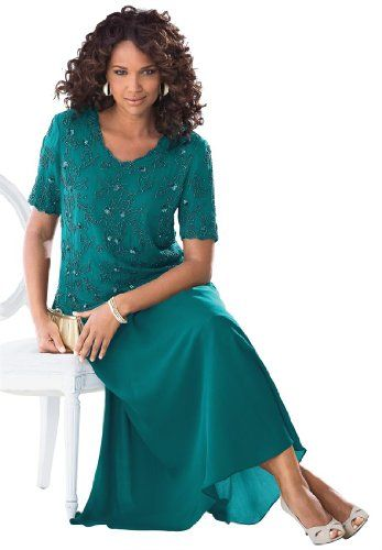 The Best Dressed Women`s Plus Size Georgette Evening Skirt - List price: $61.56 Price: $46.56