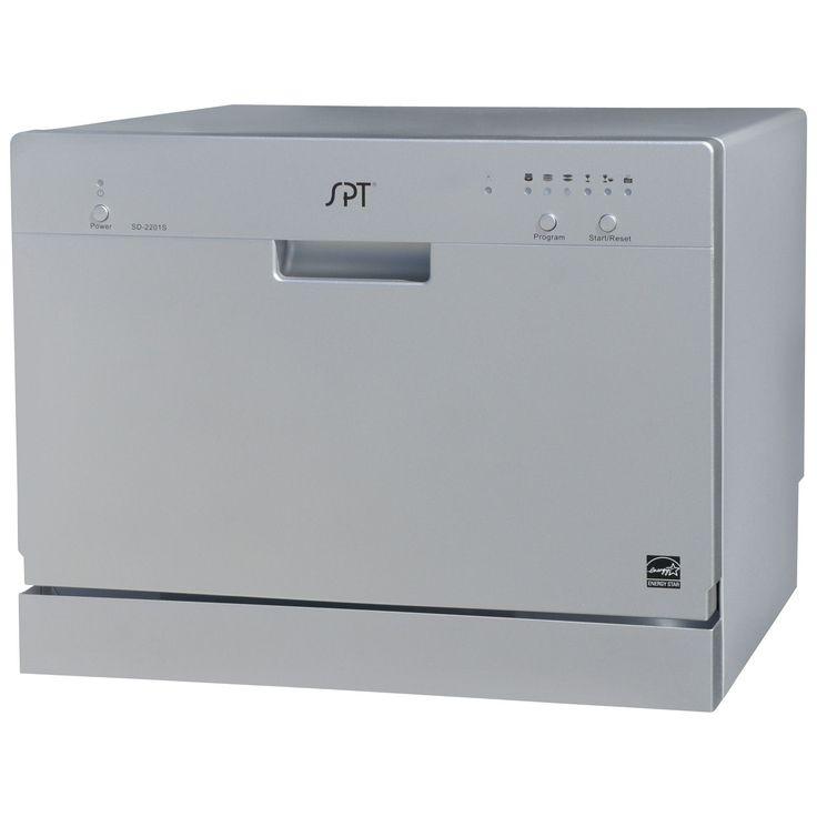 Fingerhut SPT Countertop Dishwasher Silver