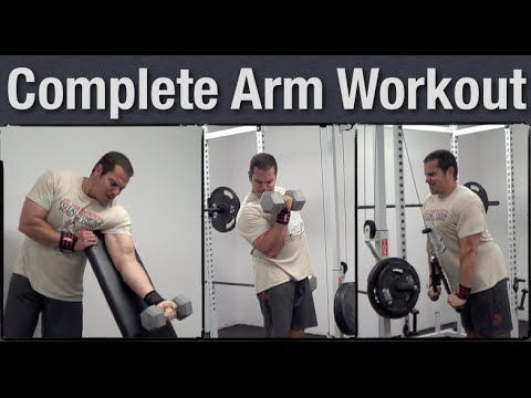Complete Tricep and Bicep Workout for Mass