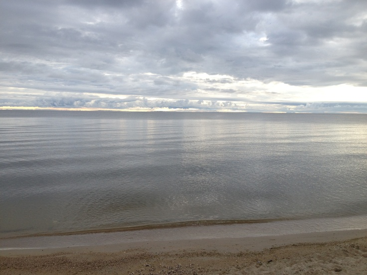 I took this picture at Winnipeg Beach on August 27, 2012. The clouds were amazing. - Bendrix
