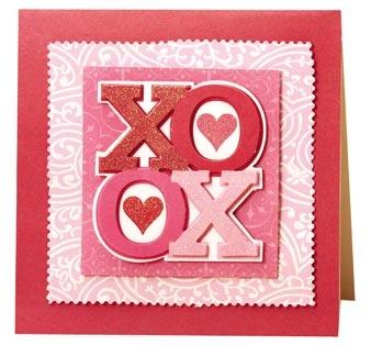 anna griffin - valentine's day card: Anna Griffins Valentines Cards, Love Valentines Cards, Cricut Valentines Day Cards, Griffins Cards, Cricut Exploring Valentines, Valentines Anna, Cards Valentines, Cards Ii, Cards Anna