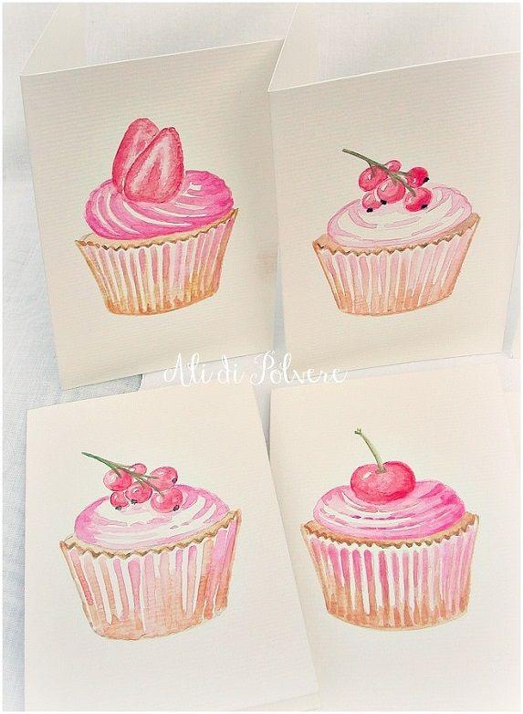 Ali di polvere: Inviti di per una festa di compleanno: i cupcakes ...