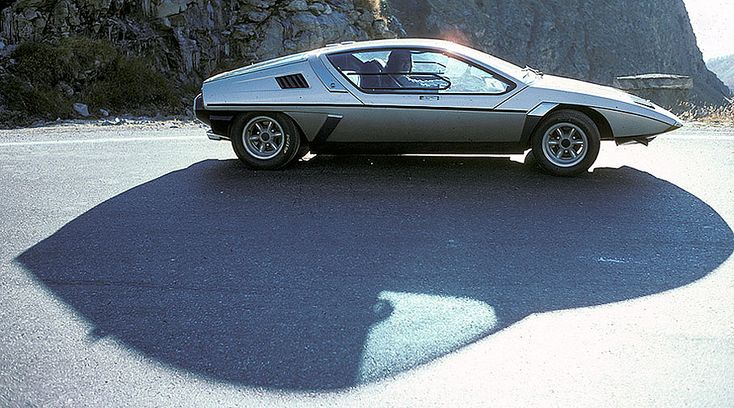 '71 Matra Laser concept by Michelotti