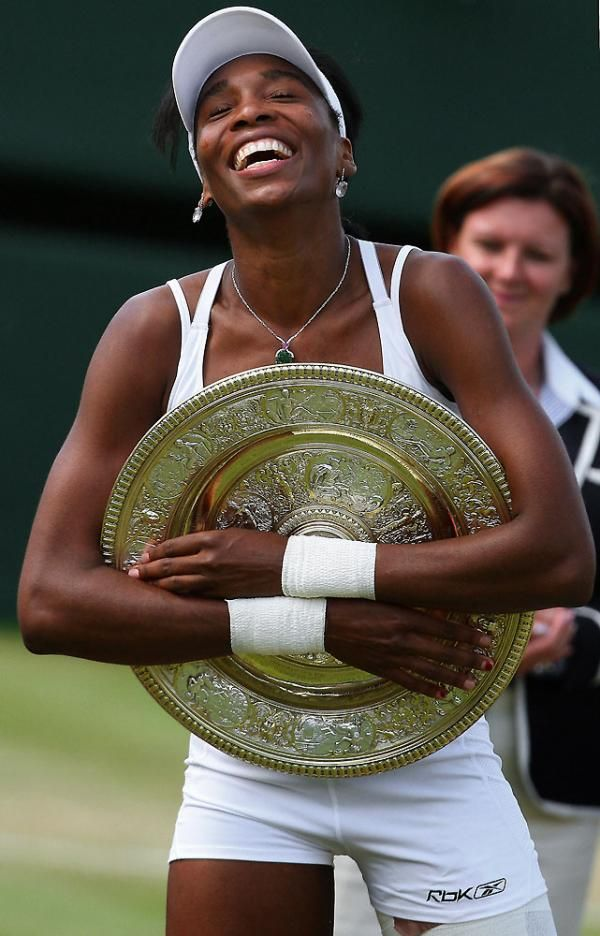 Venus Williams ~ Wimbledon champion 2007