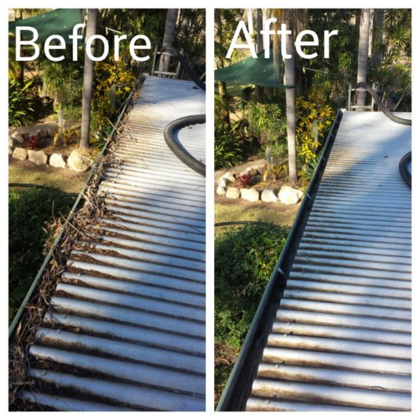 Gutter Cleaning Brisbane and Ipswich.