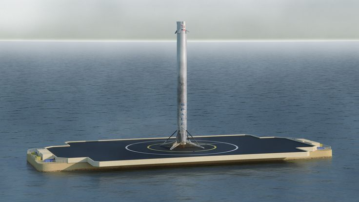 SpaceX Landed A Rocket On A Platform - Business Insider