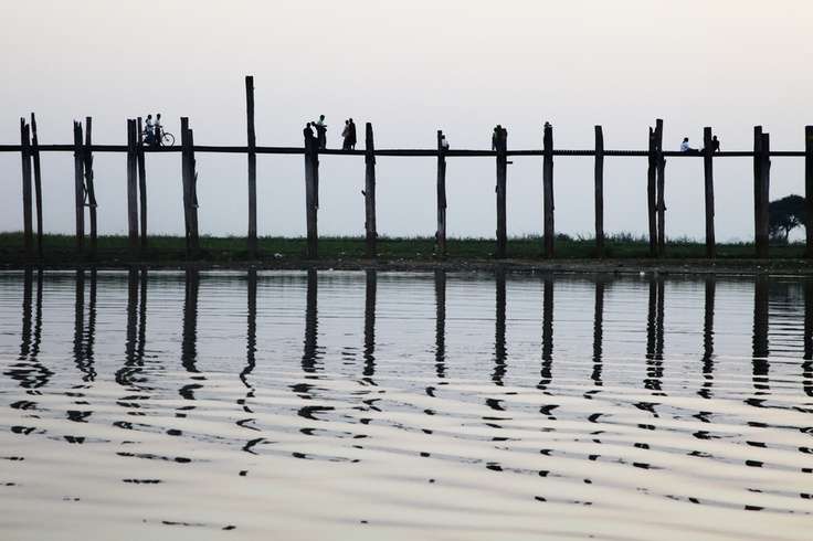 Ubein Bridge, Myanma by Don Kim, via 500px