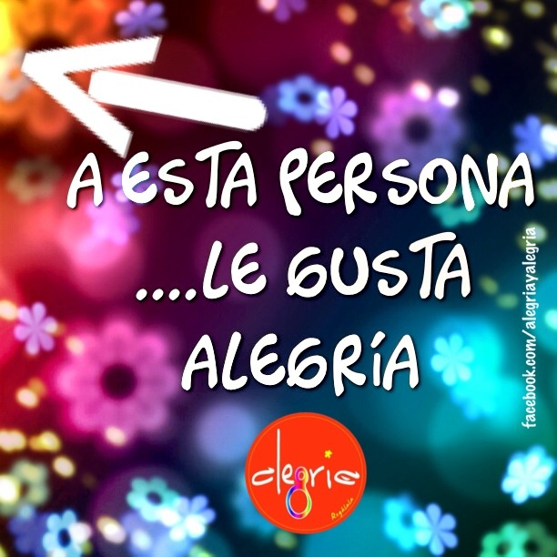 facebook.com/alegriayalegria