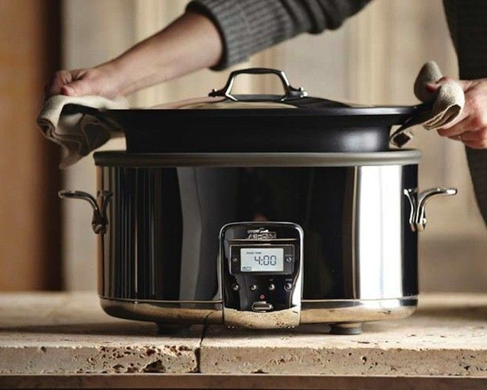 how to cook rice in all clad slow cooker