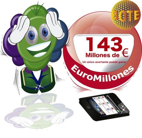 """Cuanto dices que hay de BOTE para """"El Euromillon"""" del Martes 18 de Junio? https://www.sortxxl.com/ Utiliza nuestras APP. https://www.sortxxl.com/page.php?idP=aplicacionesmoviles"""