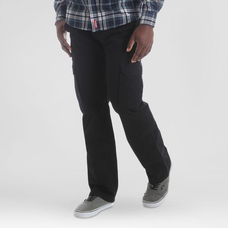 Wrangler Men's Cargo Pants - Black 34x30