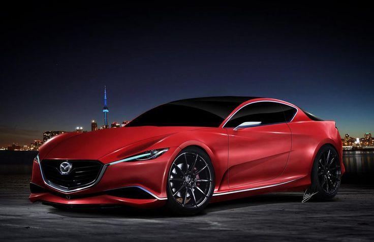 "automotivated: ""2016 Mazda RX-7 concept (by Car Fanatics) """