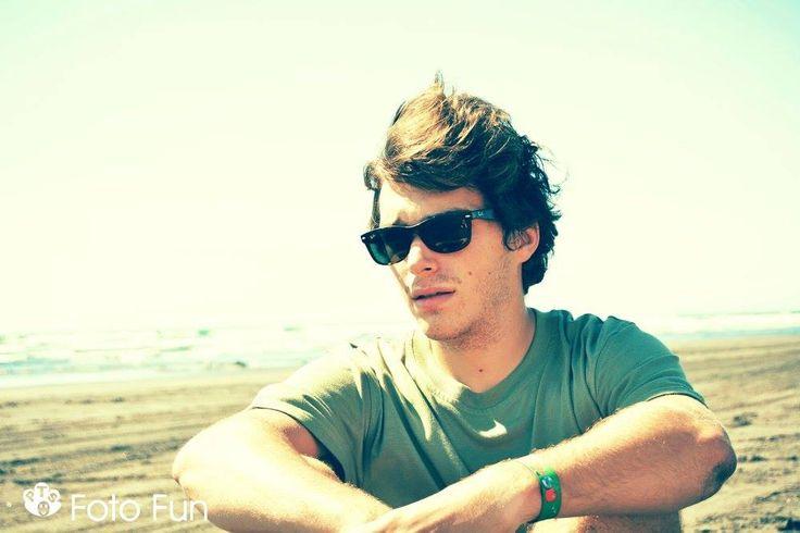 Adrien in Kawhia beach