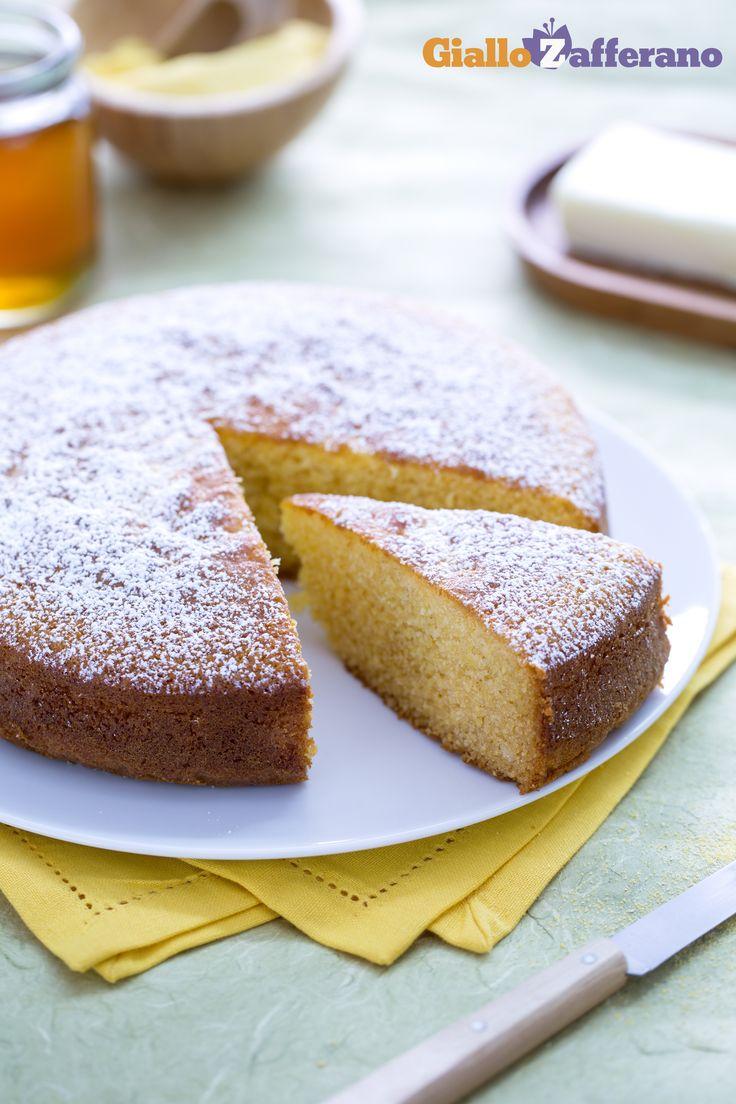 Corn cake - Torta di mais (Bolo de fubà) - Le Ricette di GialloZafferano.it