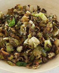 Shredded Parmesan Brussels Sprouts Recipe AB: Easy and delicious.
