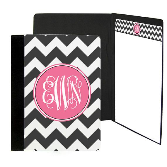 Personalized Padfolio Notebook with your name by TheMonogramLine, $30.25
