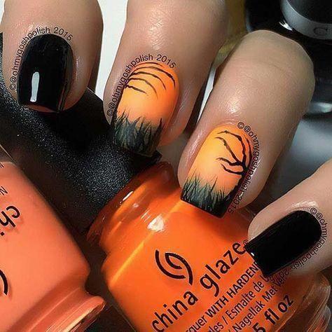 25 kreative Halloween Nail Art Ideen – Nails – #…