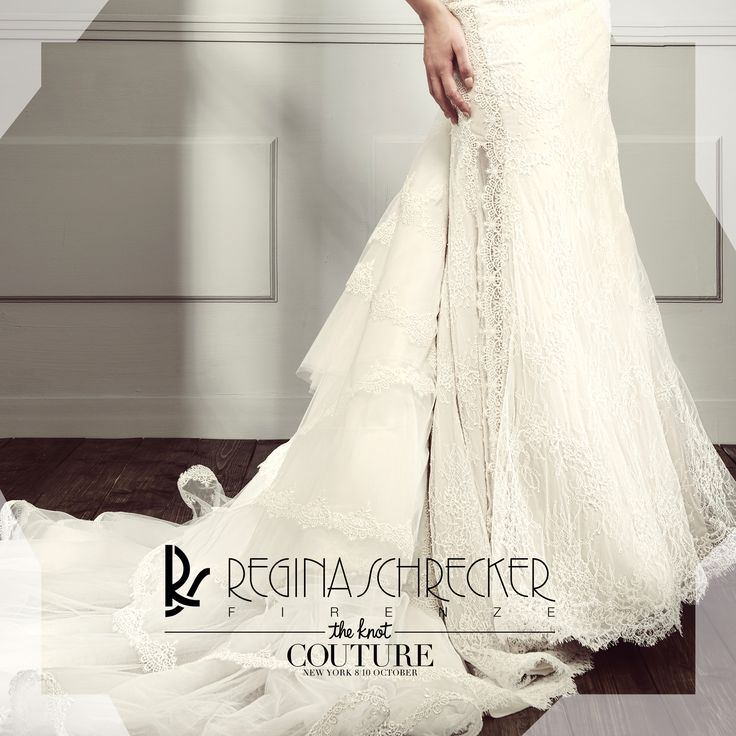 "It's time to let the white spread it's light all over. Find us at ""The Knot"" Couture New York."