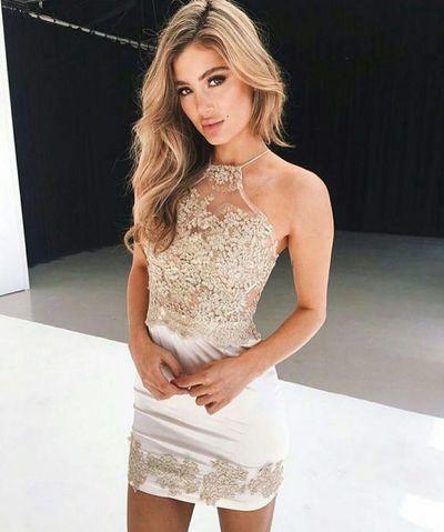 white homecoming dress,short prom dress 2017,homecoming dress,sparkly homecoming dress,183 #cluboutfits #homecomingdresses