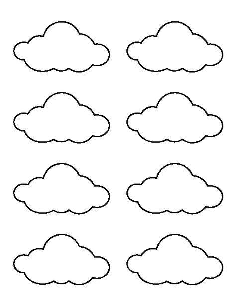 Best 25+ Cloud template ideas on Pinterest Rainbow pages - rainbow template