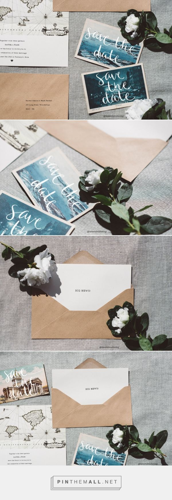 Destination vintage wedding for travel lovers - map wedding invitations design » Lovers Love Loving