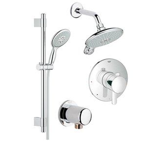 Grohe - Shower head, hand shower, slide bar, valve trim $647